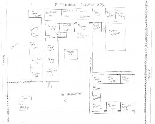 Pepperwood Map